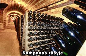 Šampanas rūsyje
