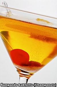 Šampanės kokteilis (Champenois)