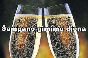 Šampano gimimo diena