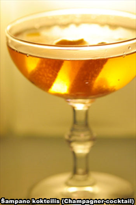 Šampano kokteilis (Champagner-cocktail)