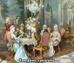 Cleto Luzzi. Šampano vakarėlis