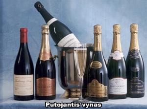 Putojantis vynas