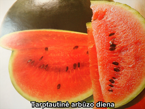 Tarptautinė arbūzo diena