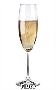 Vyno taurė ant ilgo kotelio (flute)